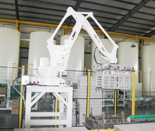 润滑油智能化生产线-机械手