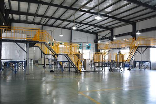 石墨烯导电浆料生产线
